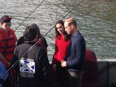 Duke and Duchess of Cambridge now off on a little fishing trip #RoyalVisitCanada
