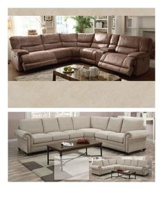 The Costco Connection - January 2015 - Page  sc 1 st  Pinterest : sectional at costco - Sectionals, Sofas & Couches