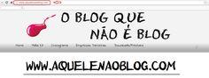 O Blog Que Não É Blog: Domínio Próprio ! \o/
