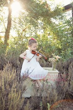 This is great... Michaela with her cello would be gorgeous!