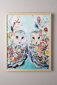 Mooreland Wall Art, Owls 228