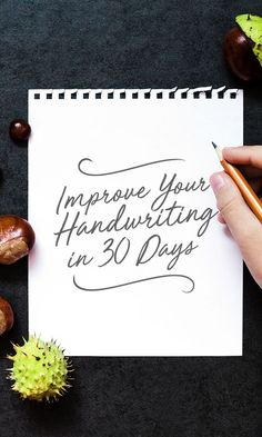 On the Creative Market Blog - How to Improve Your Handwriting in 30 Days: The Challenge