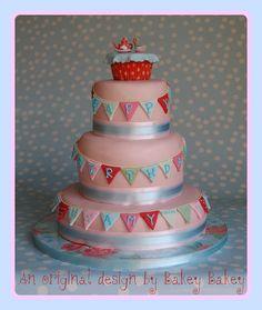 Tea Party Cake by Bakey Bakey