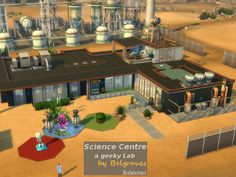 Science Center #sims4 #communitylot #laboratorium