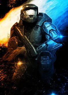 """Beautiful """"HALO Poster"""" metal poster created by Lost Boys Dsgn. Our Displate metal prints will make your walls awesome. Iphone Wallpaper Lights, Wallpaper Space, Aliens, Unsc Halo, Halo Poster, Halo Collection, Ultimate Collection, Halo Ships, Halo Backgrounds"""
