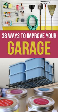 38 Ways To Vastly Improve Your Garage