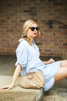 New fave Bella Dahl tunic from Nordstrom Rack on The Brand Next Door