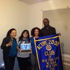 Presentación del Plan al Club Activo 20-30 de New York - Presenting the Plan to the Active 20-30 New York Club
