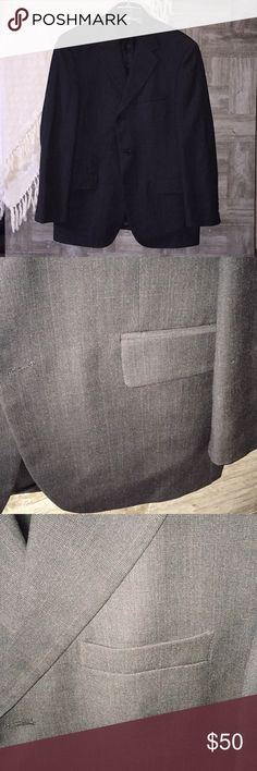 Andrew Fezza Blazer Charcoal gray blazer.  Excellent condition! : 6C Andrew Fezza Suits & Blazers Sport Coats & Blazers