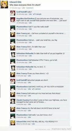 Omygod!! Hahaha Full metal alchemist brotherhood meets Black Butler Love the last bit...