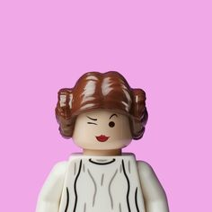 Snarky Princess Leia lego photograph by Dale May