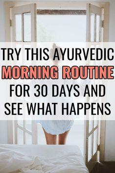 Start an Ayurvedic Morning Routine Namaste Nourished - Ayurveda Lifestyle Holistic Wellness, Holistic Nutrition, Proper Nutrition, Holistic Healing, Wellness Tips, Holistic Medicine, Holistic Approach, Nutrition Guide, Nutrition Education