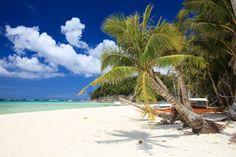 The island of Boracay, Philippines