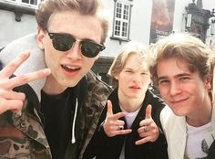 tb to the boys back in Bergen