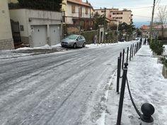trieste via commerciale   Bora, neve e ghiaccio: le foto dei lettori - Foto - Il Piccolo