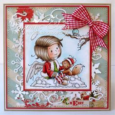 Whimsy Stamps Wee Stamps Angelica by semsee