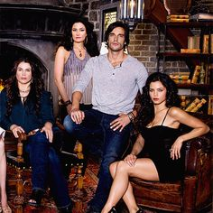 Witches of East End ... Joanna, Wendy, Killian and Freya