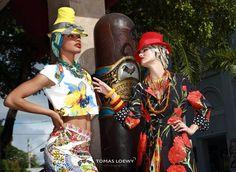 Hats by Fernando Garcia designs Miami Beach Florida