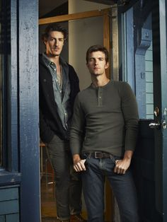 "Haven S1 Cast: Lucas Bryant ""Nathan,"" Eric Balfour ""Duke"""
