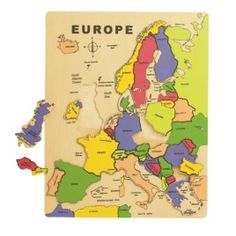 Wooden Puzzle Of Europe - Aspace £7