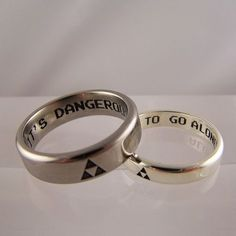 Geek Chic wedding rings & other jewellery - Ring Jewellery