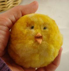 Pom Pom Chicks - duckyknits