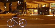 The Coolest Glowing Bike is From SF