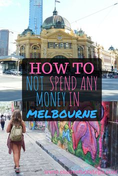 Sometimes, we just don't have any money. Here's how to do Melbourne on a budget - an ultra low budget. Work And Travel Australia, Australia Trip, Moving To Australia, South Australia, Visit Australia, Nationalpark, Budget Travel, Travel Europe, Travel Abroad