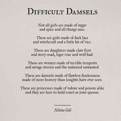 30 Powerful Quotes From Poet & Author Nikita Gill, Including An Exclusive Interview On Her Newest Book, 'Fierce Fairytales' Poem Quotes, Words Quotes, Wise Words, Sayings, Qoutes, Witch Quotes, Life Quotes Love, Quotes To Live By, Pretty Girl Quotes