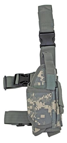 Tactical Airsoft ACU Digital Camo Pistol Leg Holster