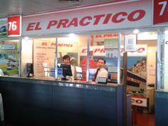 Boletería de El Práctico en Retiro. Terminal de Ómnibus de Retiro, Av. Antártida Argentina y Calle 10. Boletería 76. Tel: (54) 011 - 43115002