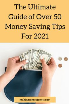 The Ultimate Guide of Over 50 Money Saving Tips For 2021 Best Money Saving Tips, Saving Money, Finance Tips, Extra Money, Budgeting, Save My Money, Budget Organization, Budget, Money Savers