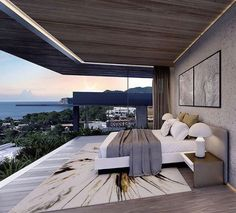 Modern bedroom architecture house design with minimalist style and luxury exterior and interior and using the perfect lighting style is inspiration for villas mansions penthouses Modern Bedroom Design, Decor Interior Design, Interior Design Living Room, Room Interior, Interior Staircase, Contemporary Bedroom, Suites, Awesome Bedrooms, Home Decor Bedroom