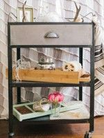 See 3 Tricked-Out Ways To Style A Rolling Cart, Right Here! #refinery29