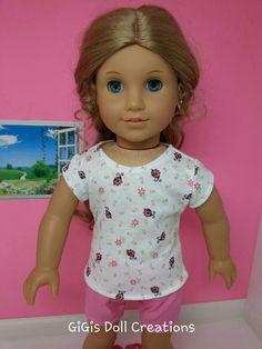 RESERVED FOR ALI Handmade Doll Clothes Pink by GiGisDollCreations