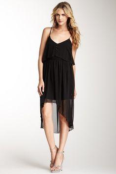 Costa Blanca Ruffle Hi-Lo Dress $29.00