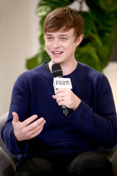 Dane Dehaan at the Variety Awards Studio Day 1. Grooming by Georgie Eisdell.
