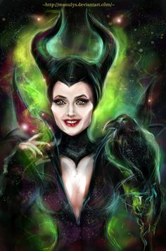 Maleficent by manulys.deviantart.com on @deviantART