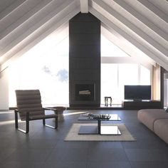 Check out this Daltile product: Lodge - Inspiring Ideas through Real Use. Photo features Lodge Sabi Sabi on the floor.