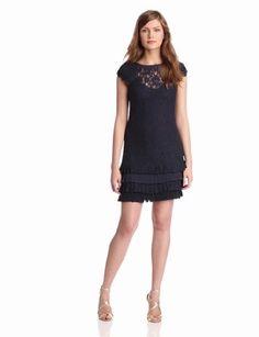 Jessica Simpson Women's Tiered Hem Lace Dress - $111