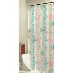 Baltic Linen Lorimer Fabric Shower Curtain with Hooks