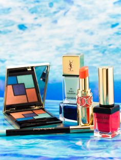 Summer 2014 just got a little more fun with the Yves Saint Laurent Bleus Lumieré Summer Look for Today I'm sharing photos - swatches up next! Beauty Care, Diy Beauty, Beauty Makeup, Beauty Hacks, Beauty Tips, Love My Makeup, Too Much Makeup, Ysl Cosmetics, Make Eyes Pop