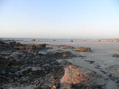 Gantheaume Point Beach, Broome, at sunset.
