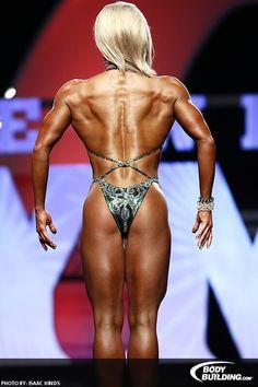 Nicole Wilkins - back pose