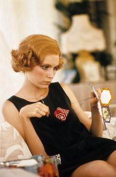 "Mia Farrow in ""The Great Gatsby"""