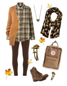 Whispers in the forest Rock Candy, Uniqlo, Earthy, Leather Boots, Flannel, Orange, Polyvore, Fashion, Moda