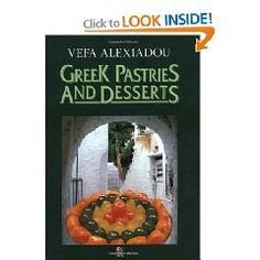 Greek Pastries and Desserts Greek Pastries, Good Food, Yummy Food, Cookery Books, Greek Recipes, Tasty, Foods, Cooking, Desserts