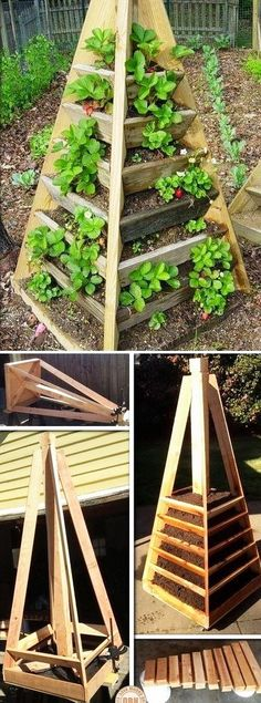 How To Make A Slot Together Pyramid Planter