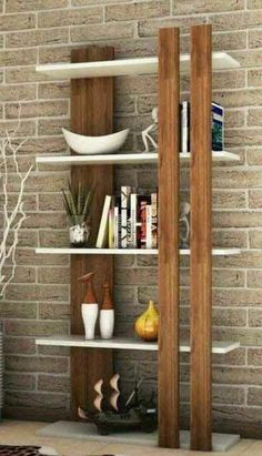 Wood Home Decor, Home Decor Furniture, Pallet Furniture, Wooden Pallet Projects, Diy Furniture Projects, Etagere Design, Multipurpose Furniture, Bookshelf Design, Home Room Design