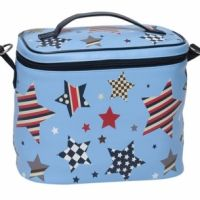 Lunch Boxes & Lunch Bags | Haggus and Stookles.  See our website:  http://haggusandstookles.com.au/product/view/Lunch-Boxes-and-Lunch-Bags/bobble-art-large-kids-lunch-box-multi-star/9/1949/
